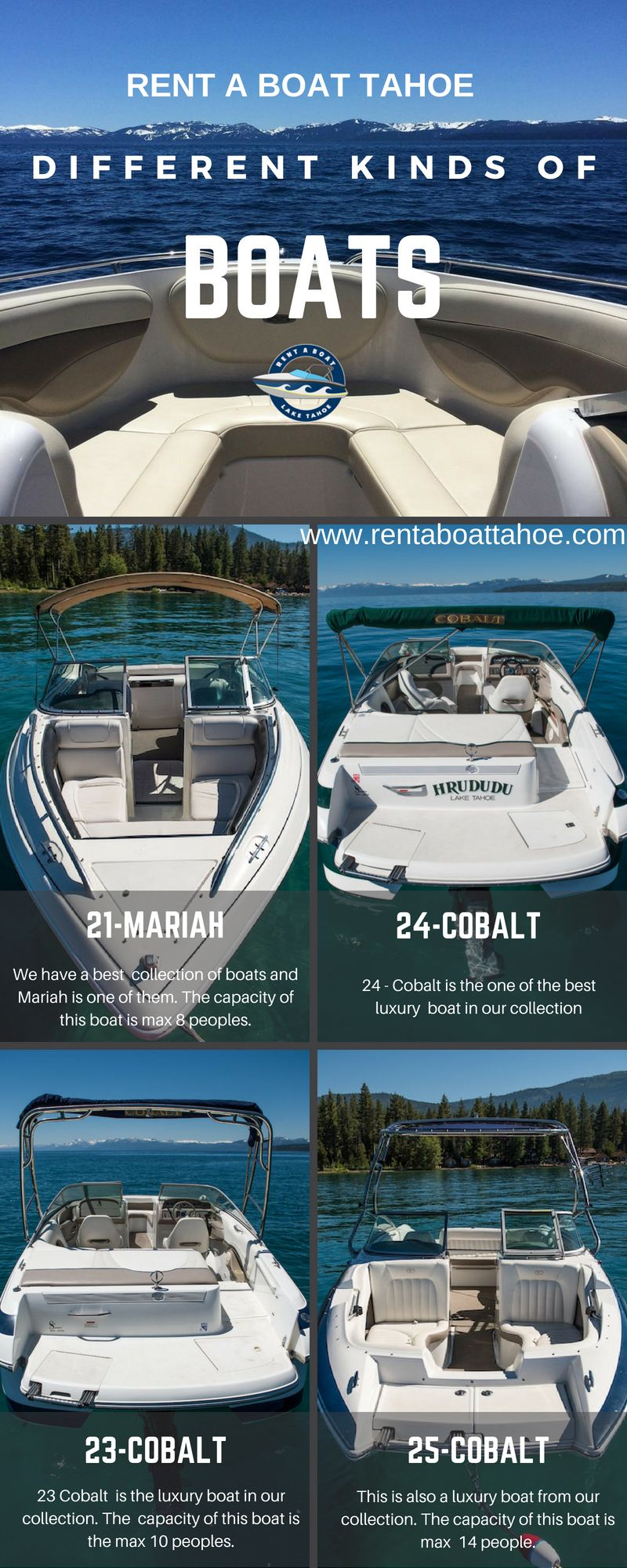 Find Luxury Boats For A Adventure Boat Ride On Lake Tahoe We Have