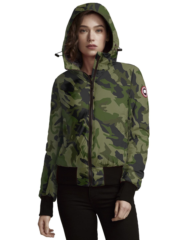 258c5079f5f Canada goose women dore slim fit hooded camo jacket down fill jpg 1200x1500 Canada  goose puffer