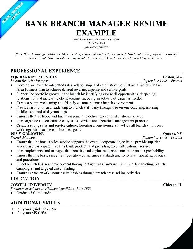 Resume Free Samples Manager Resume Resume Examples