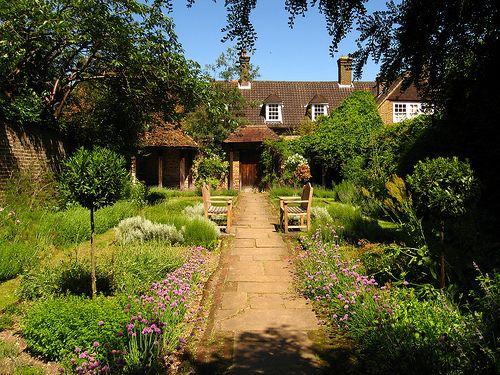 The Dutch Garden, Cannizaro Park, In Summer, Wimbledon London SW19