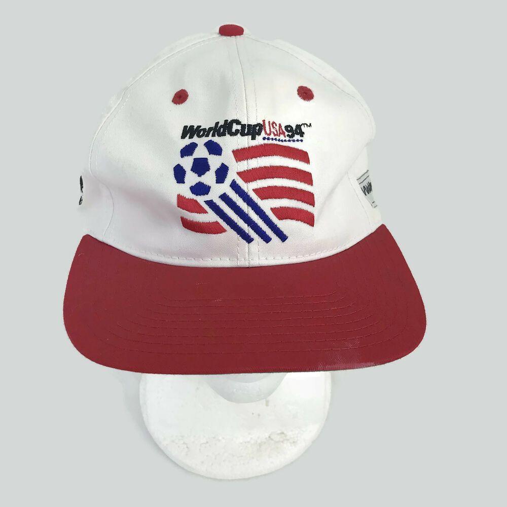 6b10eb14413 Vintage 1994 World Cup USA Soccer Men s Unisex Baseball Hat Snapback Cap OS   TwinsEnterprises  BaseballCap