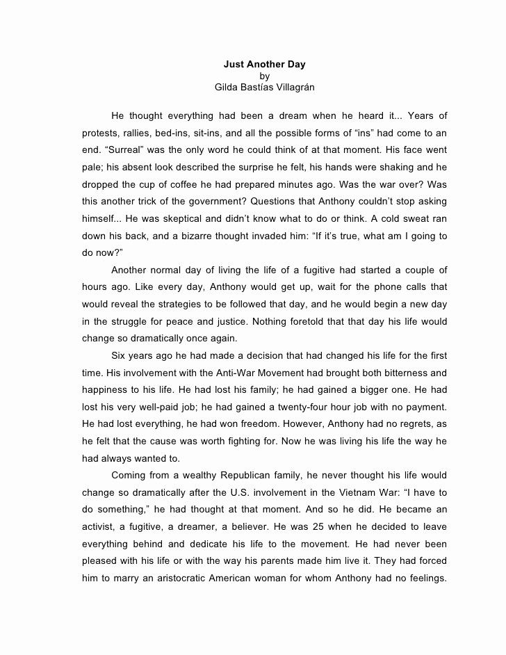 Pin On Essay Template College Life Story Example