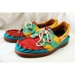 523c96aa47403 Zodiac Shoes From The 80'S | ZODIAC Multi Leather Men's Boat Shoes ...