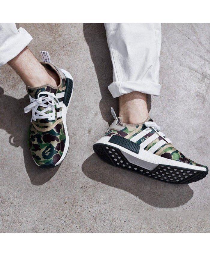 adidas nmd r1 bape mimetico scarpe adidas nmd r1 pinterest