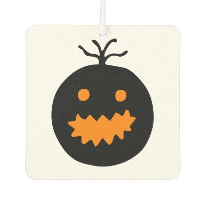 Cute Halloween Pumpkin Air Freshener Air freshener and Party gifts - cute halloween gift ideas