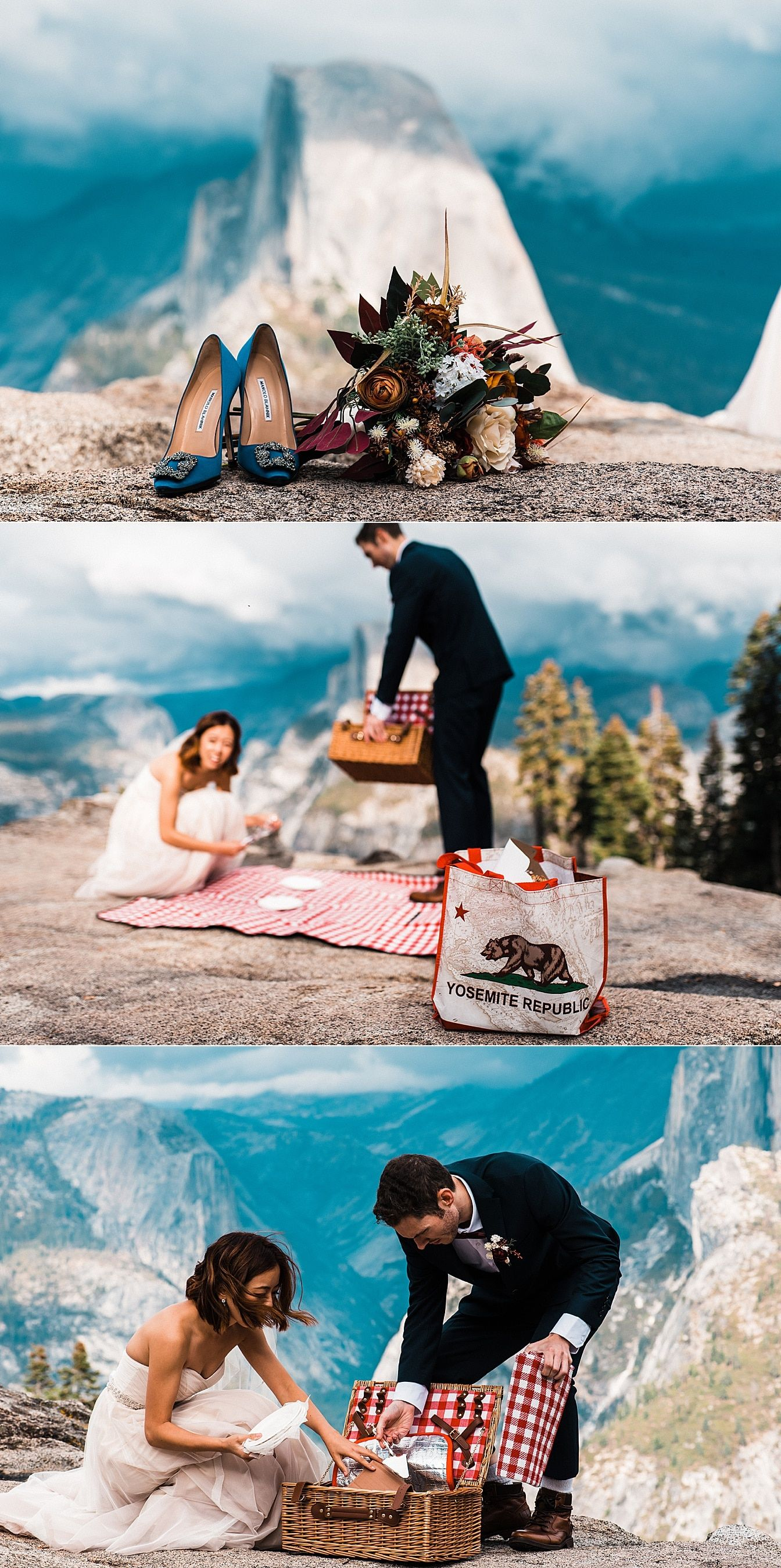 Dramatic Yosemite Sunset Elopement The Foxes Photography