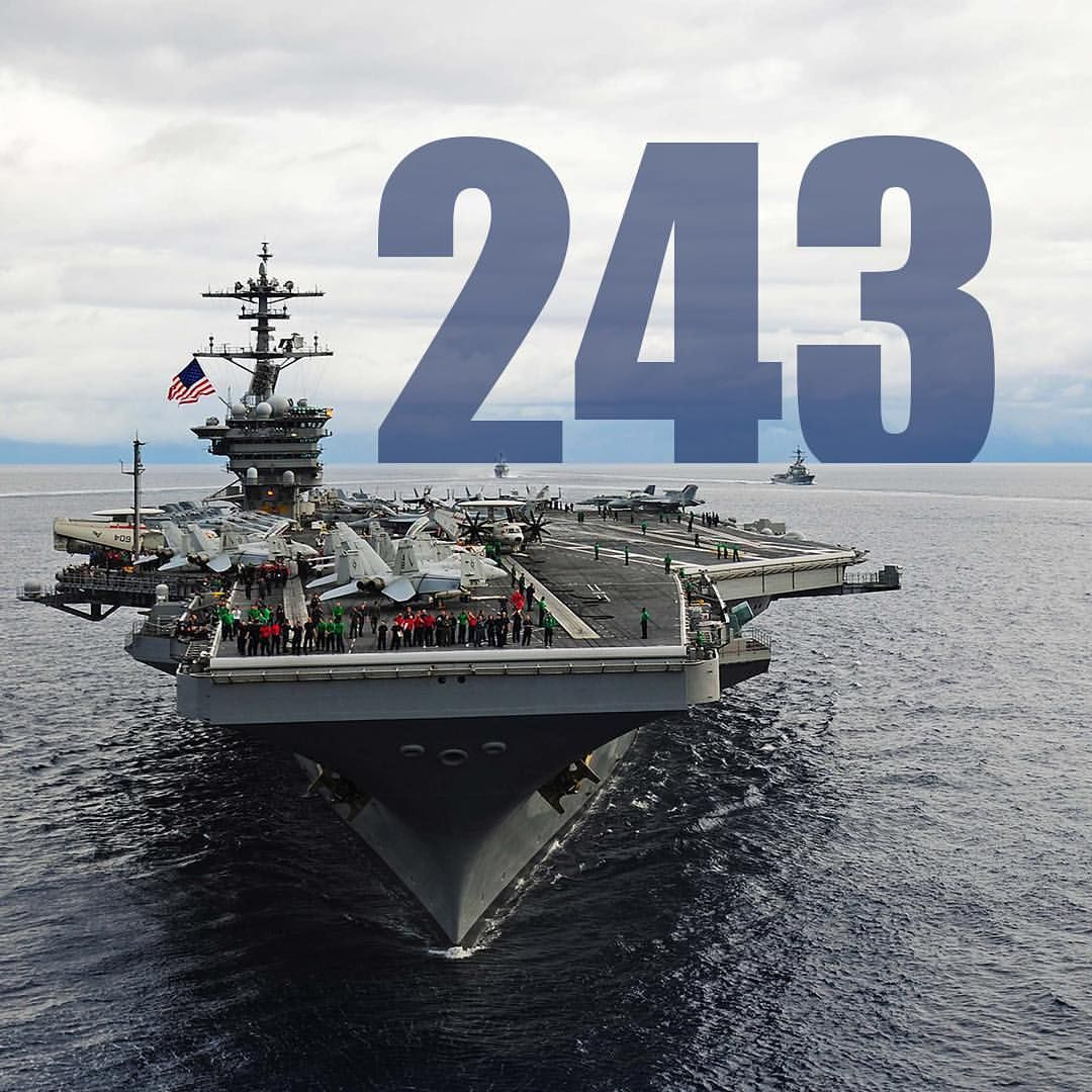 On This Day 243 Years Ago The Usnavy Began We D Like To Wish The Usnavy A Happy Birthday And Thank All Navy Aircraft Carrier Aircraft Carrier Navy Aircraft
