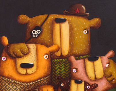 "Check out new work on my @Behance portfolio: ""!!!NEWS - BearsClan""…"