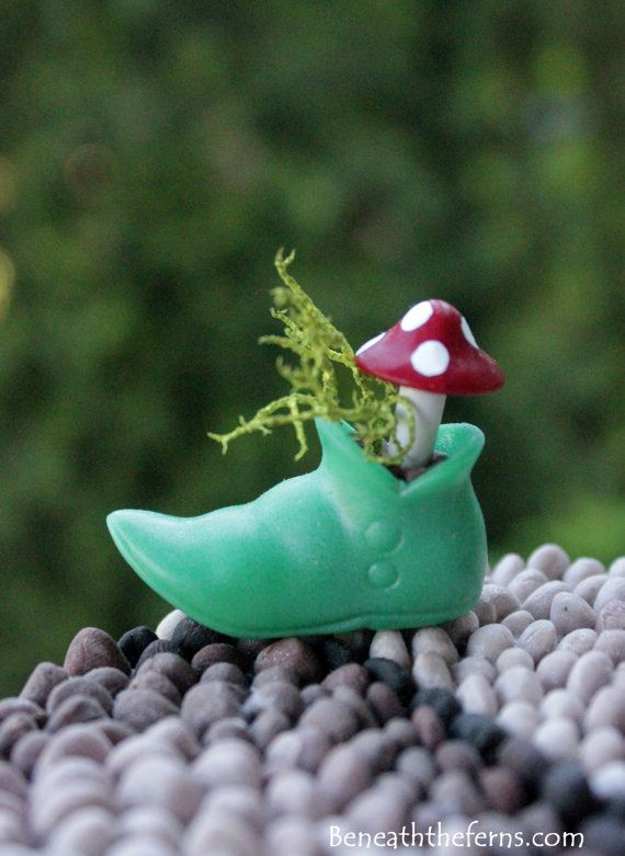 Miniature Fairy Garden Accessory Tiny Elf Boots With