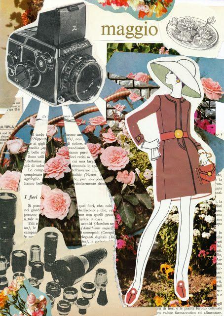 i primi Collages di Pretty in Mad