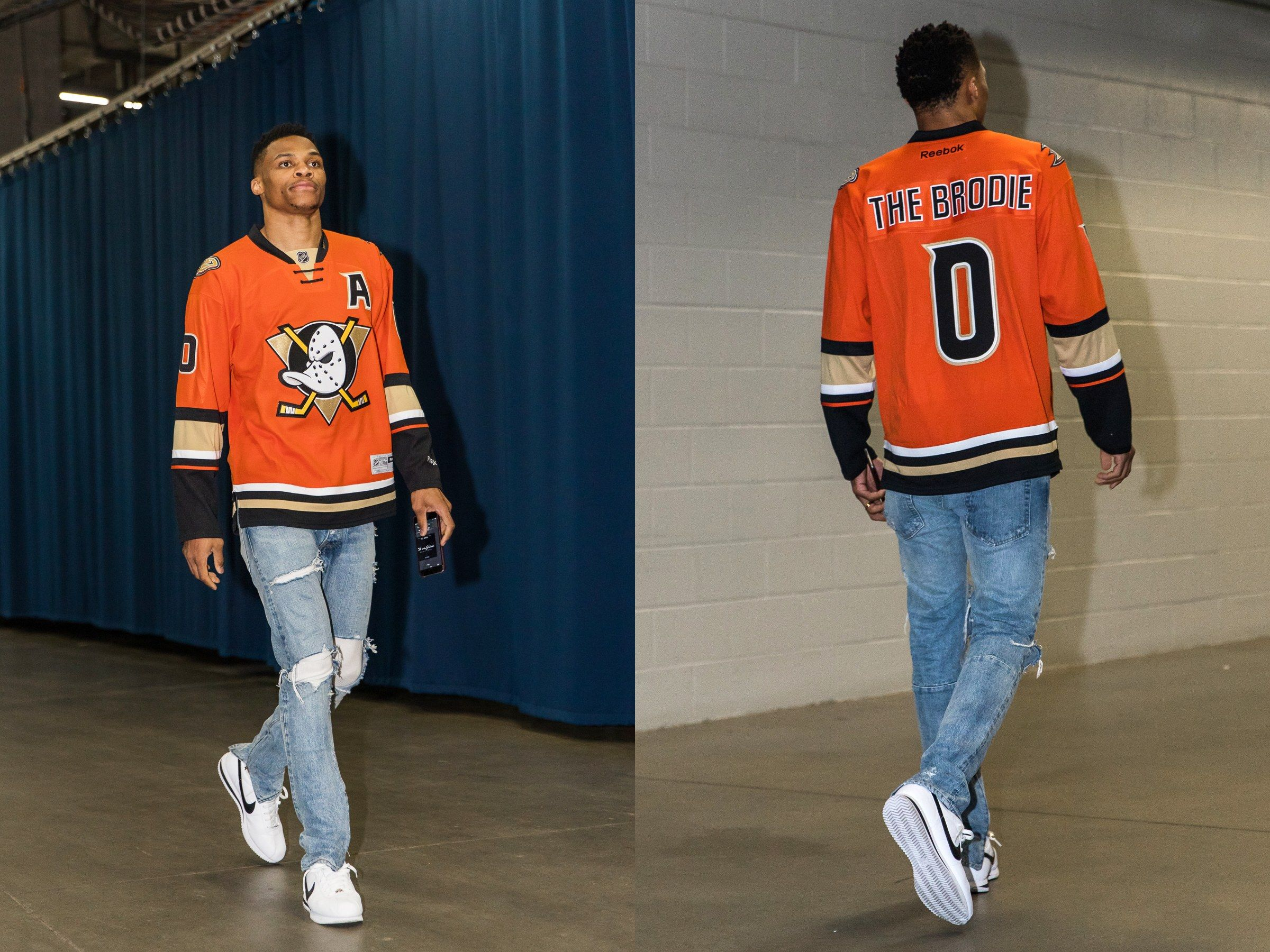 Every Outfit Russell Westbrook Has Worn During The 2016