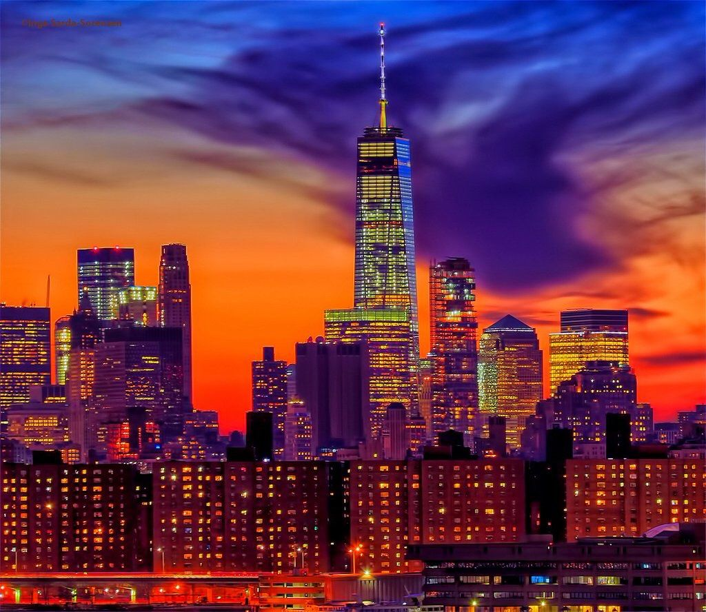 New York City by Inga Sarda Sorensen