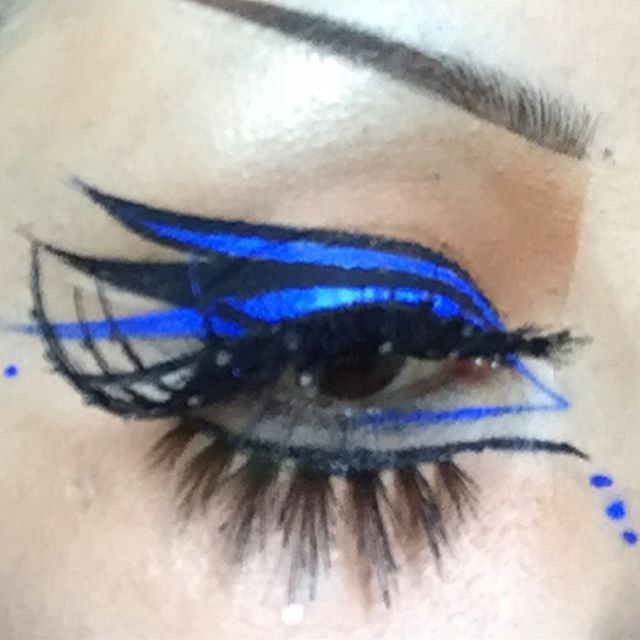 was originally going to do a blue wing but then had a ...