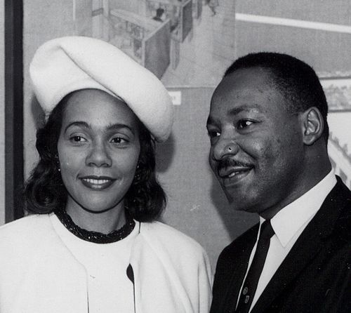 Image result for Coretta Scott King with martin luther king