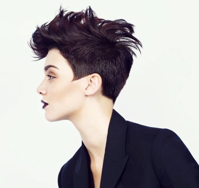 Short Punk Hairstyles Always Debatingto Cut Thy Hair Or Not To Cut Thy Hair That Is