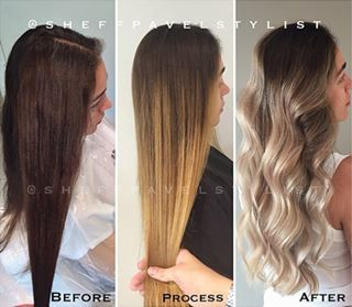 Brown To White Balayage Google Search Brown Blonde Hair White