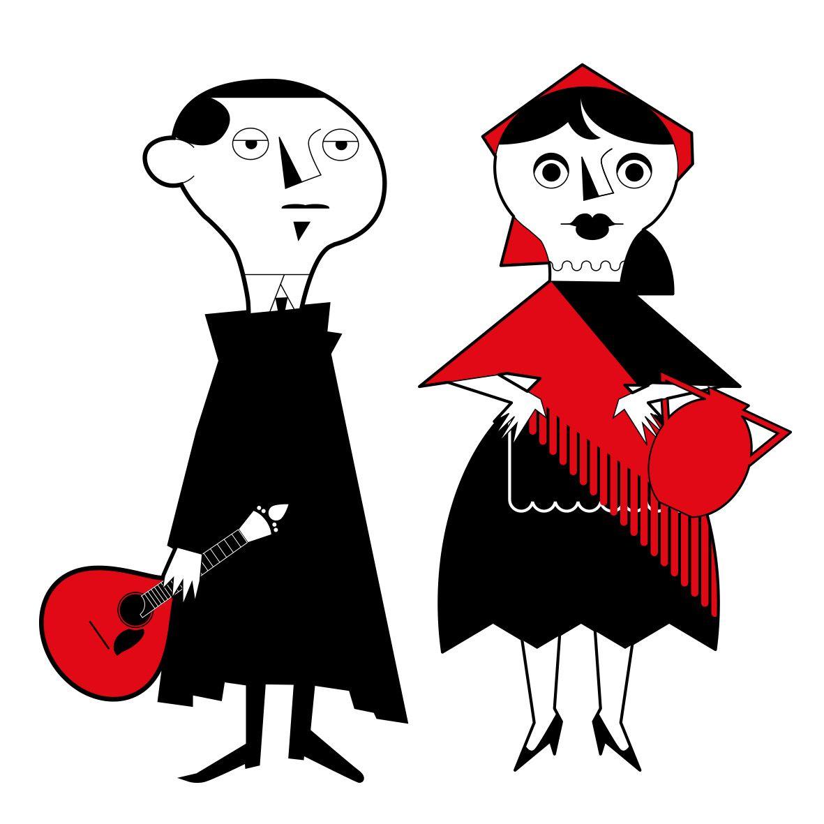 Ilustracao Fado By Gabriel Rego Lodo Com Pt Ilustracao