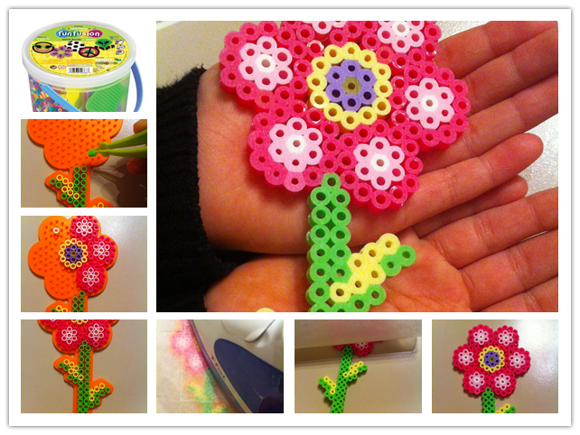 How To Make Cute Perler Bead Flowers Step By Step Diy Tutorial