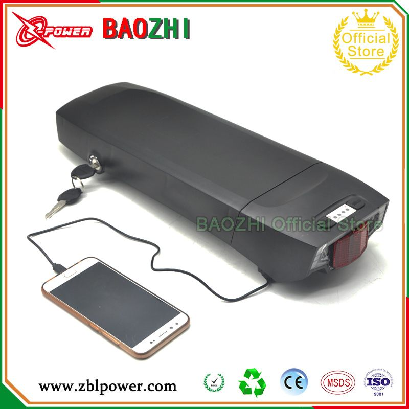 Lithium Battery 36v 17ah Electric Bicycle Battery 500w With Free 2a Charger Use Original Panasonic 1865 Electric Bicycle Battery Bicycle Battery E Bike Battery