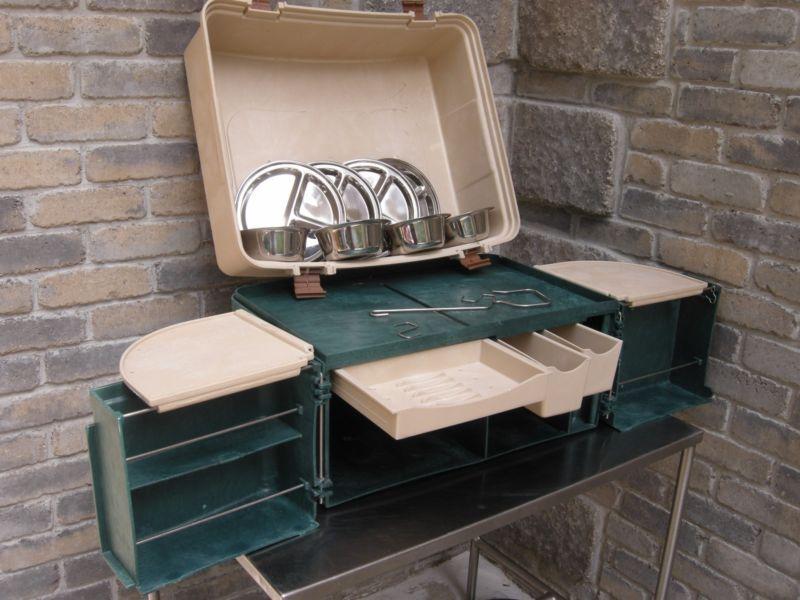 Dosko Sport Campmate Portable Kitchen Organizer Chuck Box Tailgate Kitchen Nice Camp Kitchen Small Kitchen Gadgets Grilling Gifts