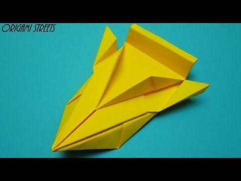Гоночная машина из бумаги. Оригами игрушка. - YouTube