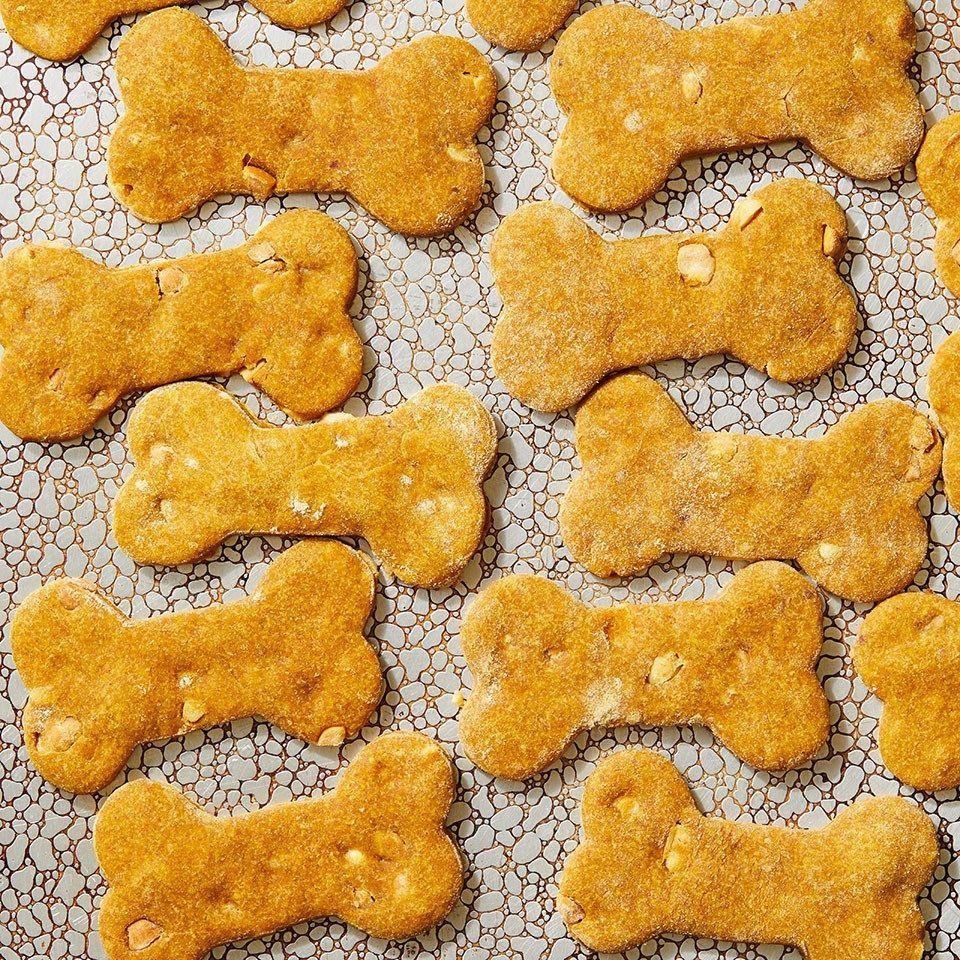 Peanut ButterPumpkin Dog Treats Recipe Peanut butter