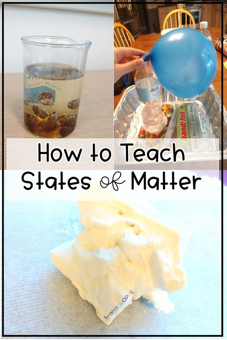 States of Matter | Get ideas and activities to teach about solids, liquids, and gases to your grade 4, 5, and 6 students. Kids will love the videos, activities, flipbook, and labs. #scienceteacher #grade4science #iteachscience