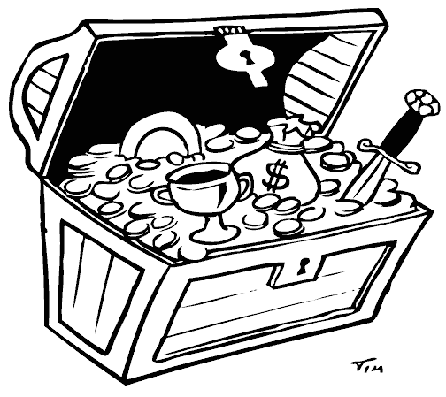 Treasure Chest Coloring Page Pirate Coloring Pages Elsa Coloring Pages Coloring Pages