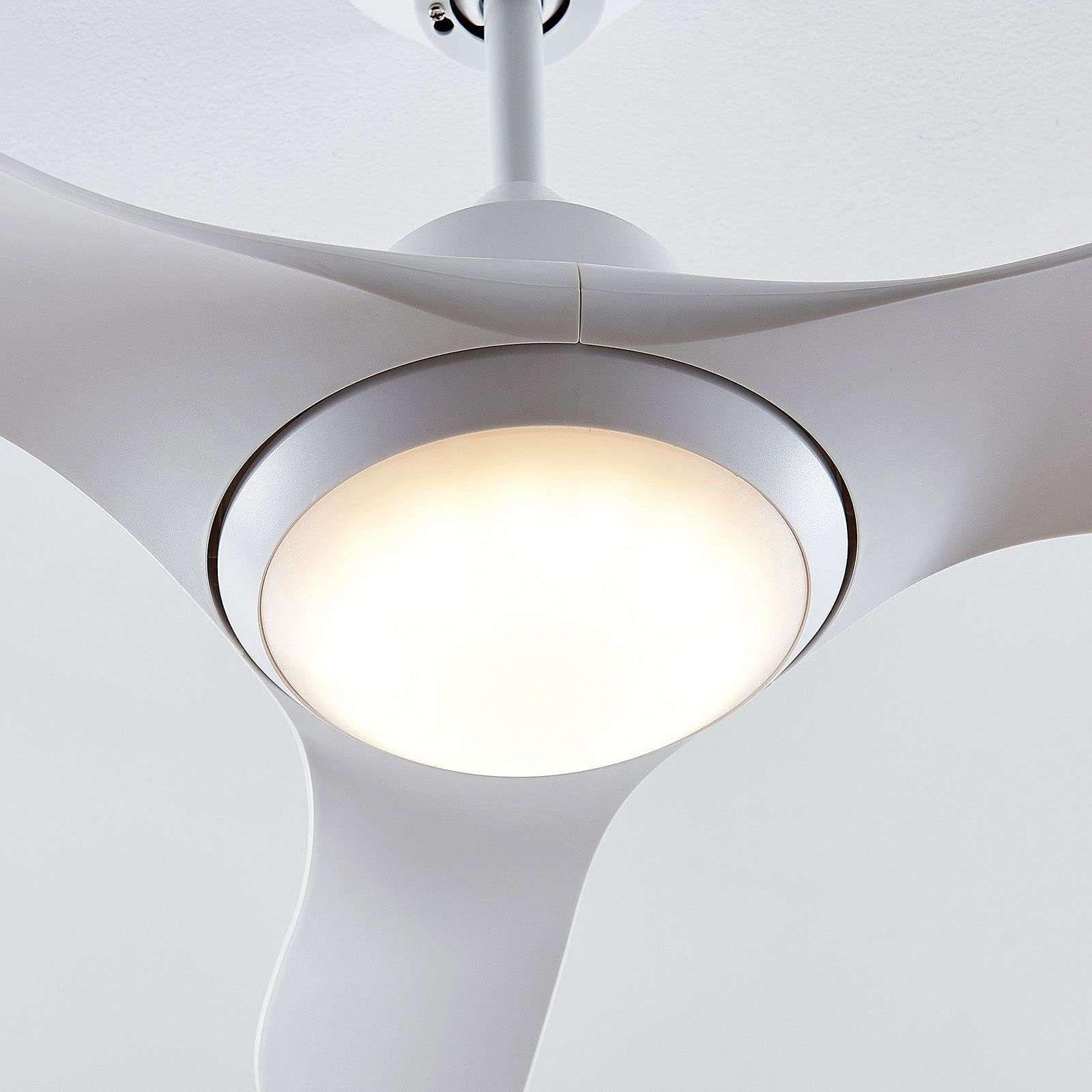 Moderner Deckenventilatoren Mit Beleuchtung Von Arcchio Weiss In 2020 Deckenventilator Led Und Ventilator