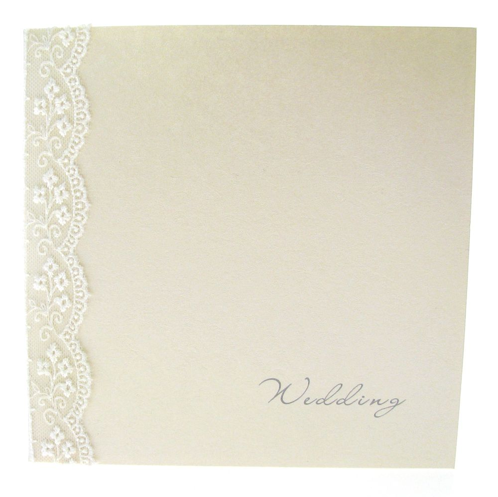 Embossed Paper Blank Invitation Cards | ... Boxed Wedding Invitation ...
