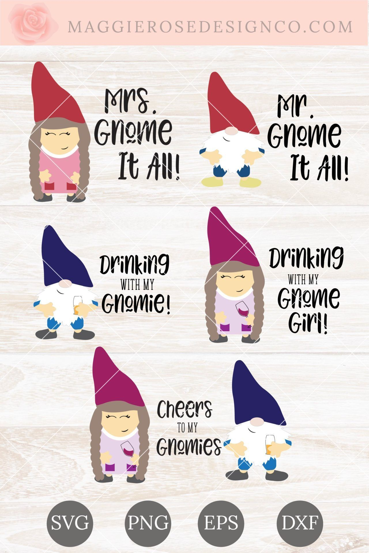 Download Free Gnome SVG Bundle + 5 Amazing DIY Gnome Crafts ...