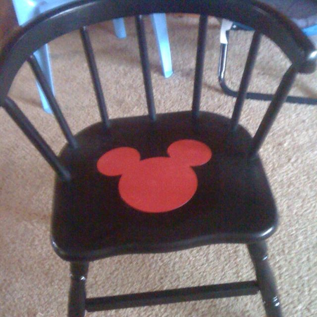 Mickey Chair for Aiden