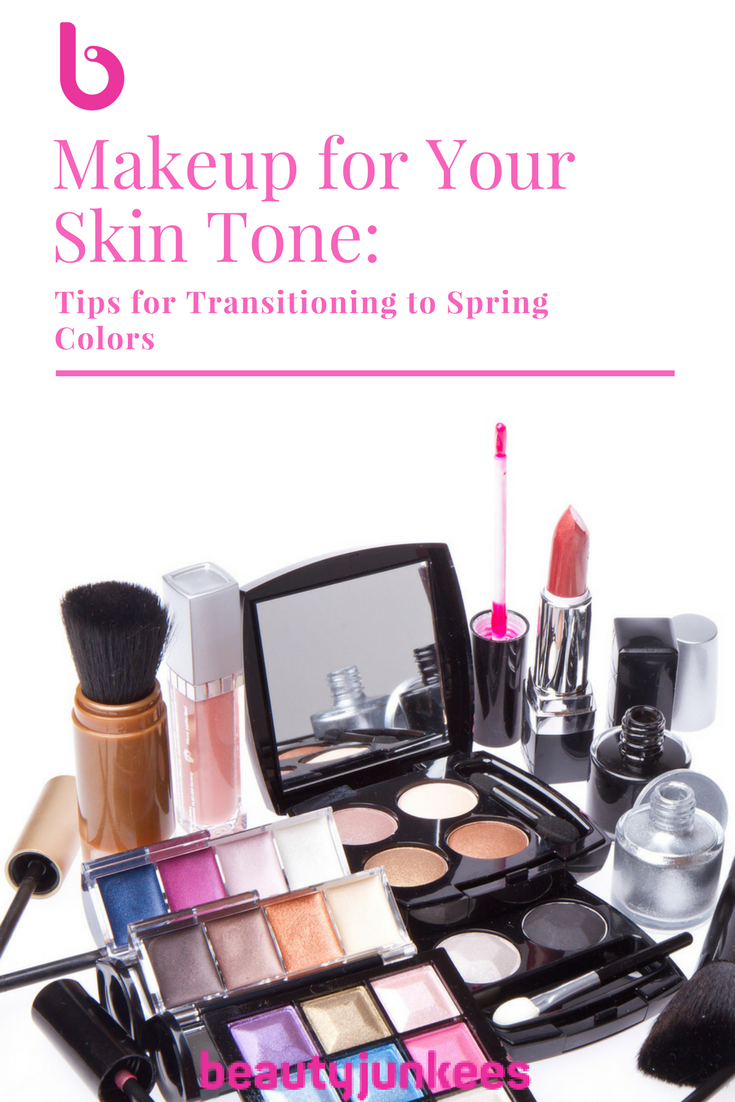Makeup For Your Skin Tone Tips For Transitioning To Spring Makeup Colors Makeup Yourself Spring Makeup Skin Tones