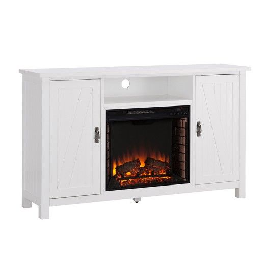 Gentil The Aiden Lane Adderline Farmhouse Style Electric Fireplace TV Stand Brings  The Charm Of The Simple Life Into Your Busy Routine. Open Media Shelf Hu2026