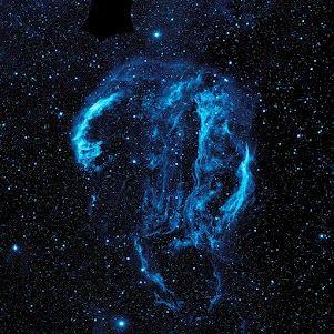 Pretty in space