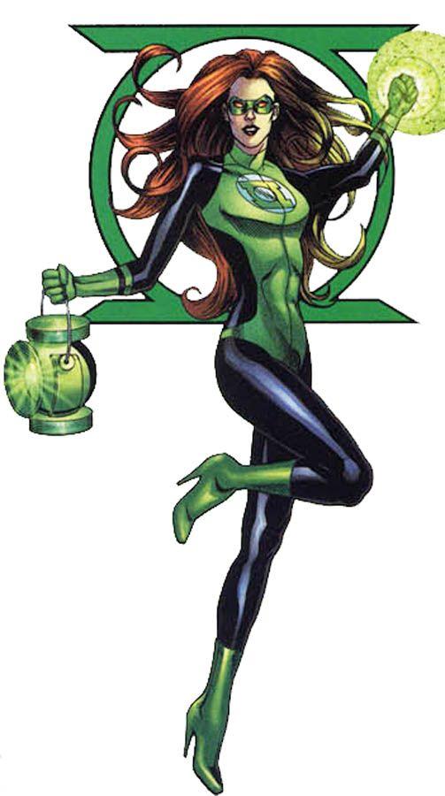 Sendrina Green Lantern Corps Tropa Dos Lanternas Verdes