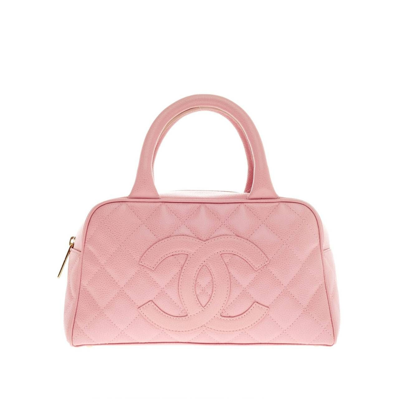 2e1afaf6dfca Chanel CC Bowler Quilted Caviar Small | Fashion Inspiration | Bags ...