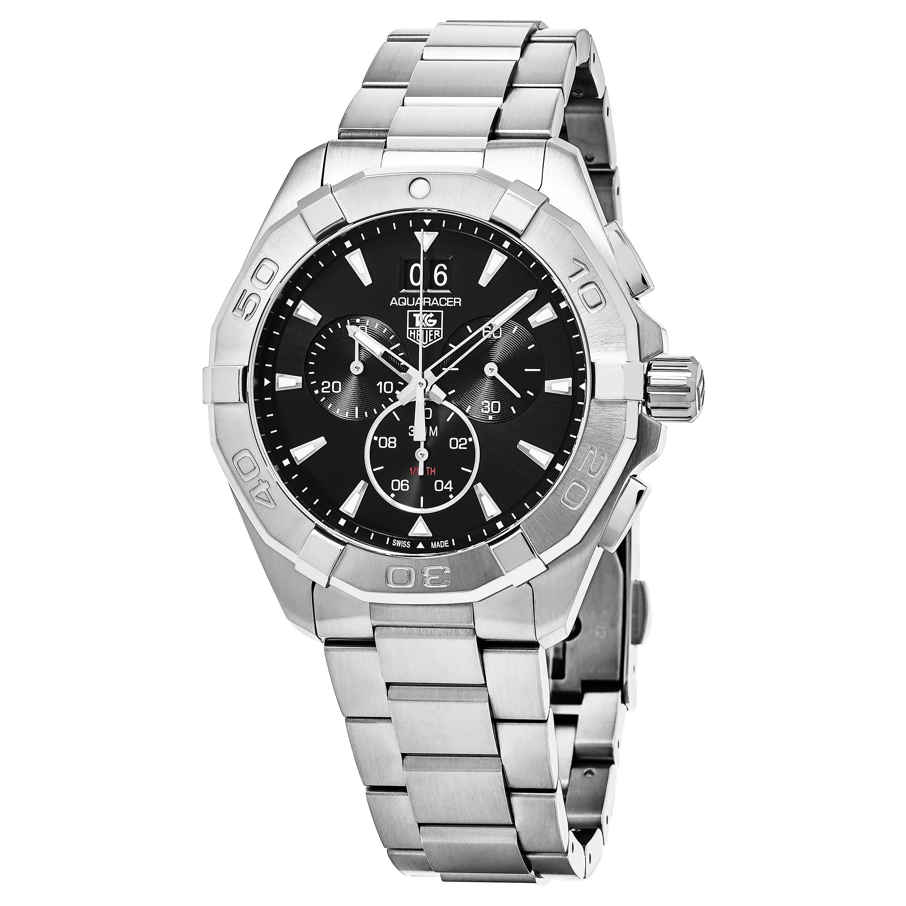 Tag Heuer Men's CAY1110.BA0927 '300 Aquaracer' Dial Chronograph Swiss Automatic Watch