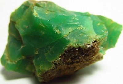 30.60 grams Quality AAA Natural Rough Gem Facet Cabbing Cab Carving Chrysoprase