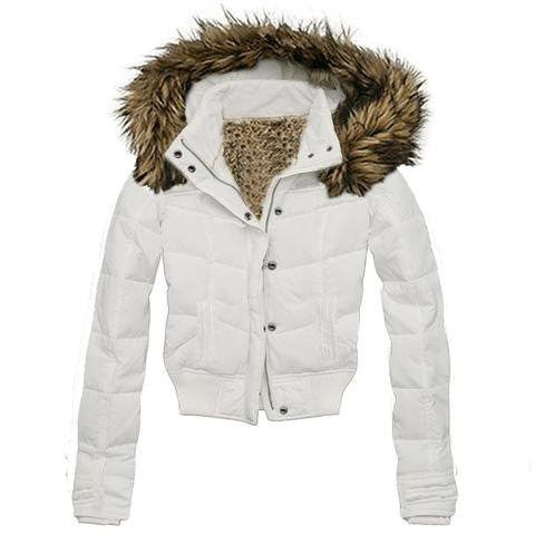 Girls White Fur Winter Jacket | What can I use or do to make my ...