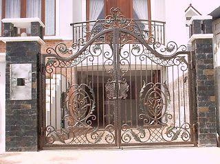 Iron Gate Design Pintu Pintu Gerbang Rumah Mewah