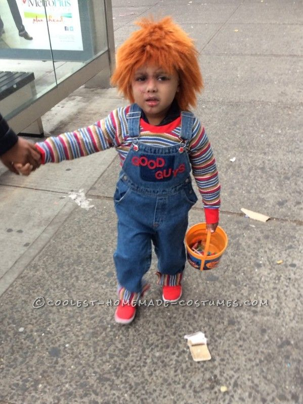 Cool Chucky Homemade Toddler Costume Halloween