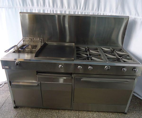 Tecnifrio estufas industriales de lujo estufa for Cocinas pequenas industriales