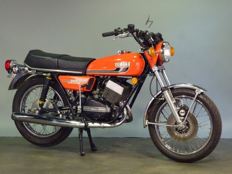 moto yamaha 125 vintage