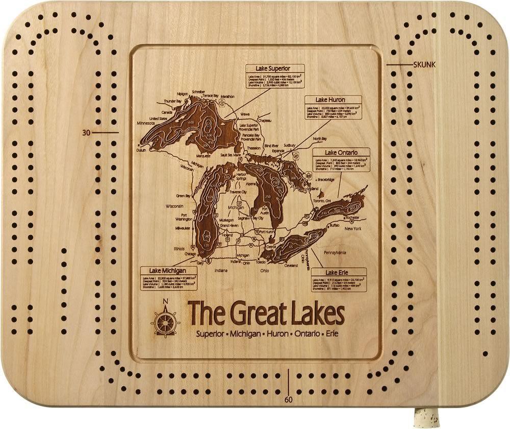 great-lakes-cribbage-board-gift.jpg (1000×840)