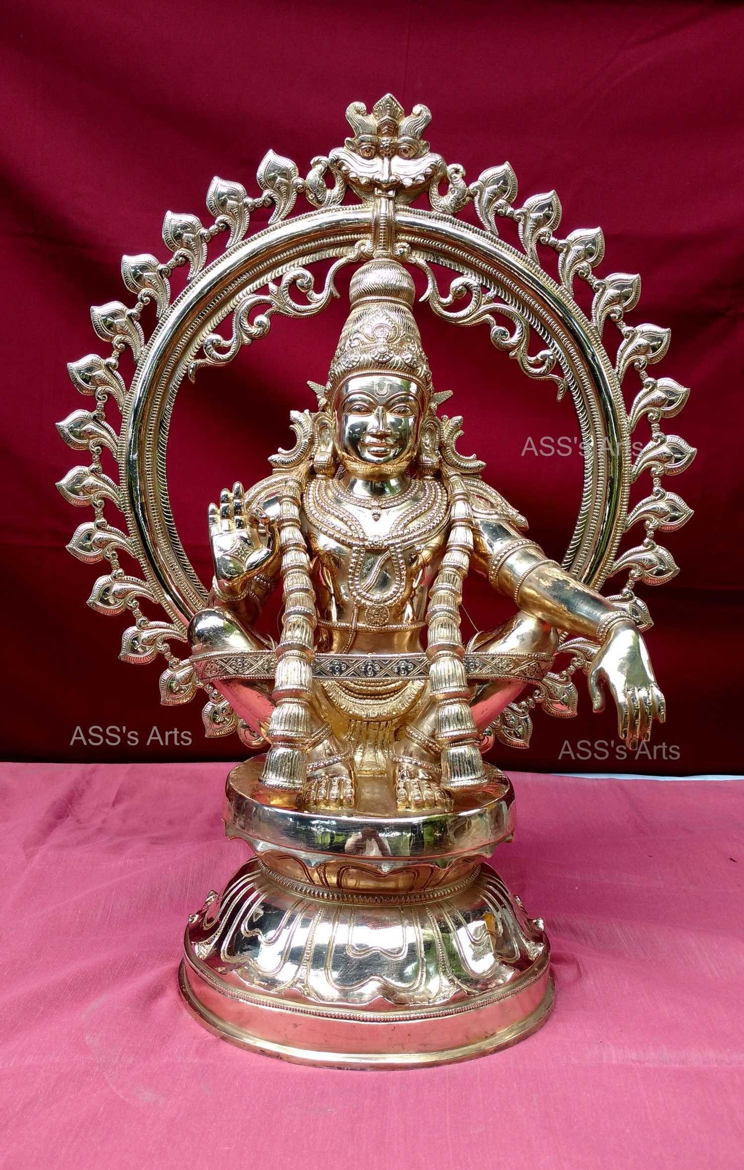 Lord Ayyappan Hindu Statues Lord Ganesha Paintings Lord Shiva Hd Images
