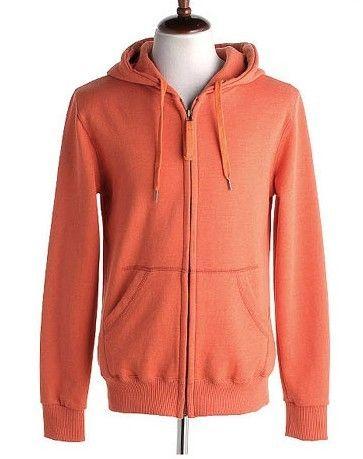 Men New Style Autumn Hood Casual Sports Long Sleeve Orange Cotton Hoodie M/L/XL/XXL@X06o
