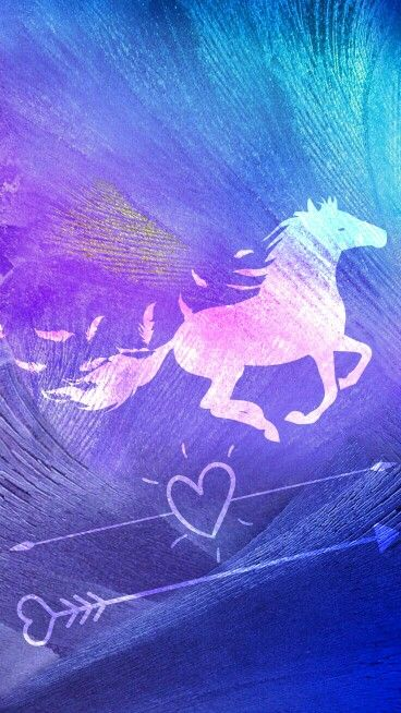 Horse Arrow Hearts Cute Adorable Love Beautiful Amazing
