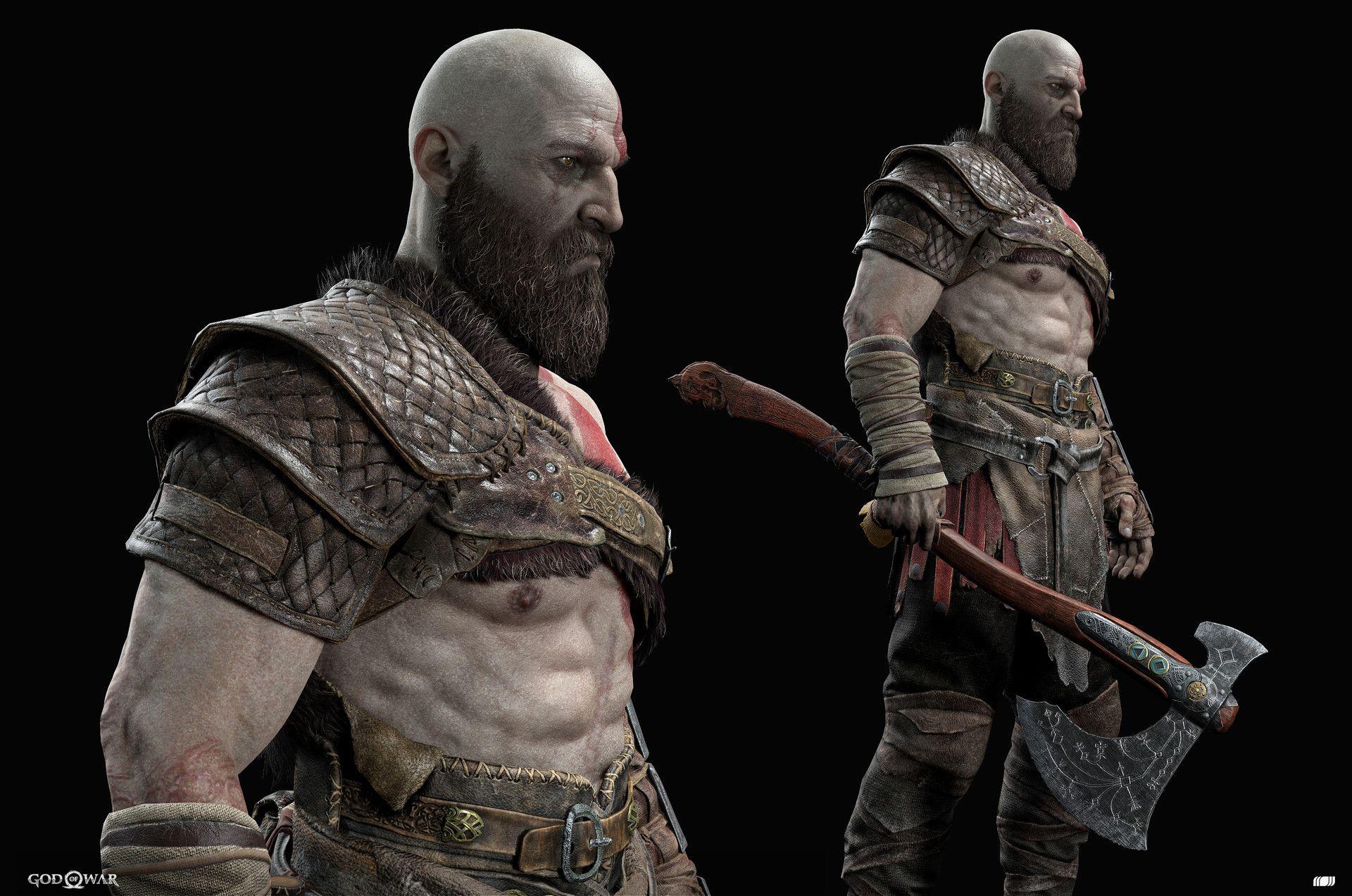 God of War 2018 18cm Kratos /& Atreus set 2 Action Figures NECA Sony Interactive