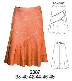 637ef07fc Faldas | Faldas | Saias fashion, Saias de tecido y Saias